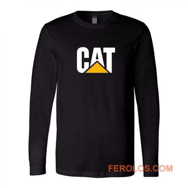 Bulldozer Digger Cat Long Sleeve