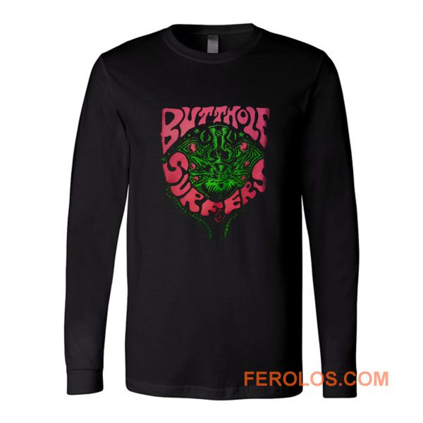 Butthole Surfers Fly Band Long Sleeve