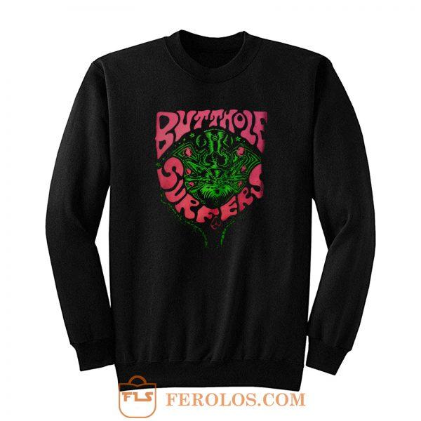 Butthole Surfers Fly Band Sweatshirt