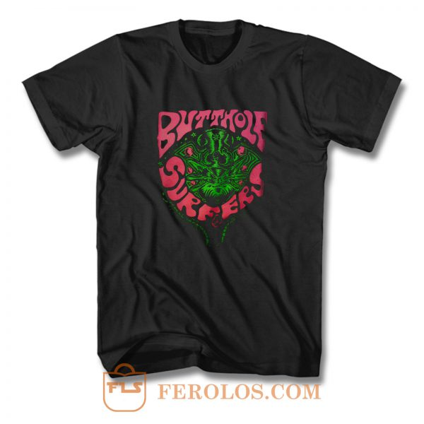 Butthole Surfers Fly Band T Shirt