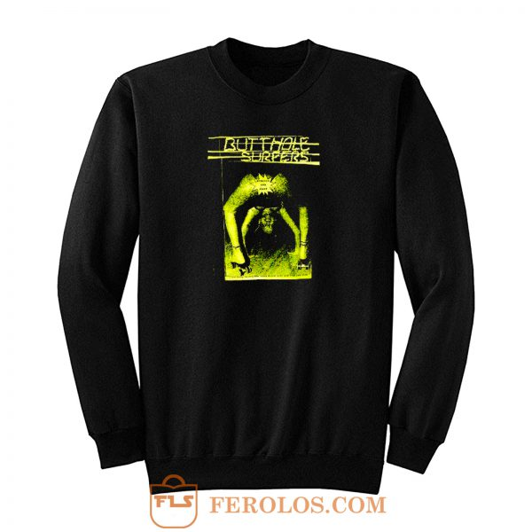 Butthole Surfers Scratch Sniff Sweatshirt