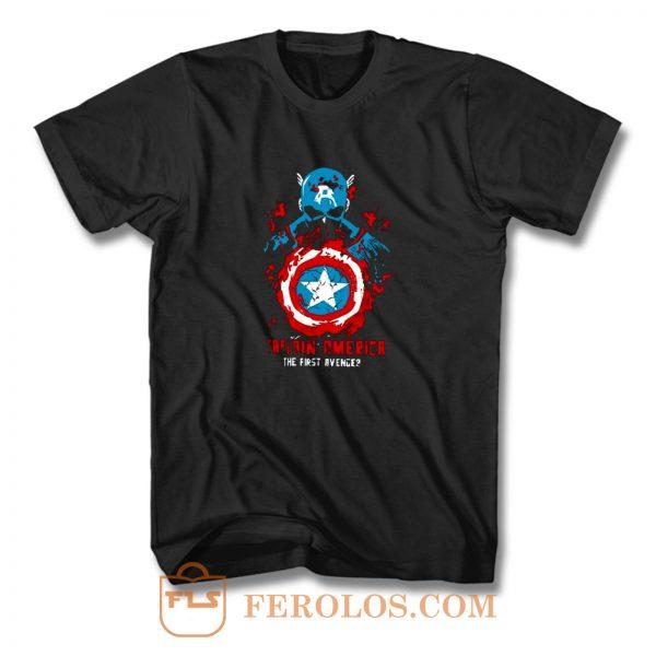 Captain Men T Shirt