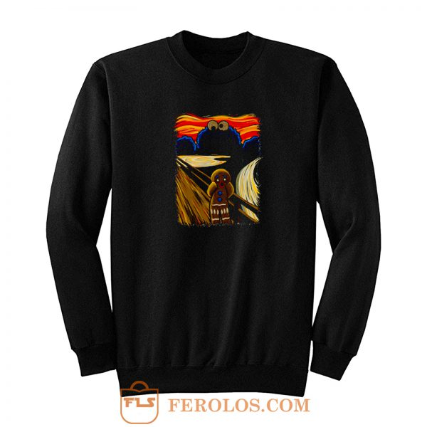 Cartoon Cookie Sweatshirt