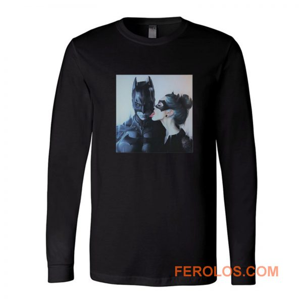 Cat Women Licking Batman Long Sleeve