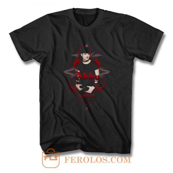 Cbs Ncis Abby Gothic T Shirt