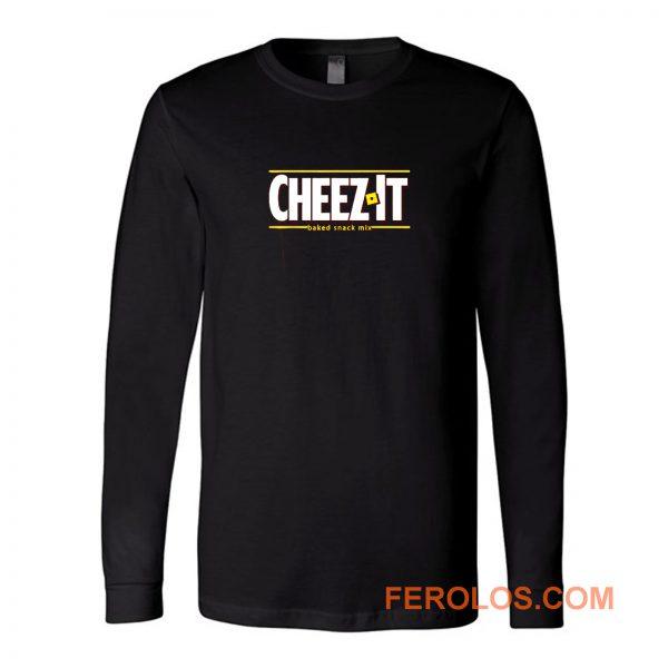Cheez It Logo Long Sleeve