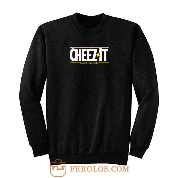 Cheez It Logo Sweatshirt
