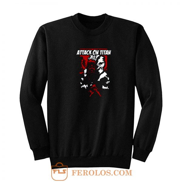 Colossal Titan Shingeki No Kyojin Attack On Titan Sweatshirt
