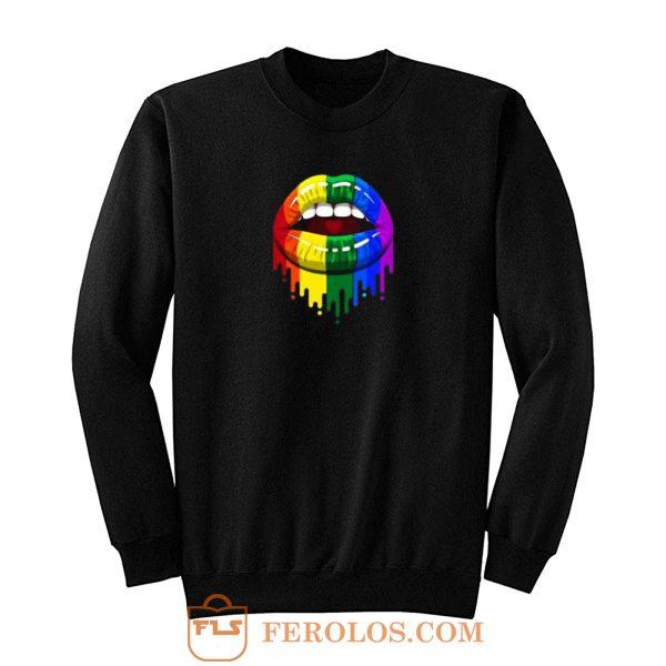 Colour Lip Lgbt Sweatshirt