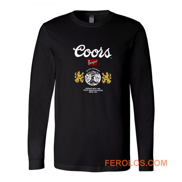 Coors Bonquet Beer Long Sleeve