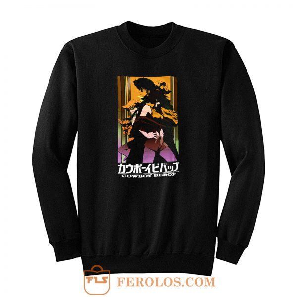 Cowboy Bebop Group Anime Sweatshirt