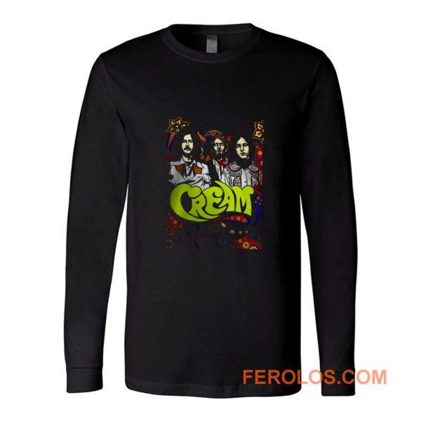 Cream Band Eric Clapton Vintage Long Sleeve