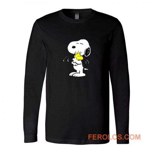 Cute Peanut Hug Snoopy Long Sleeve