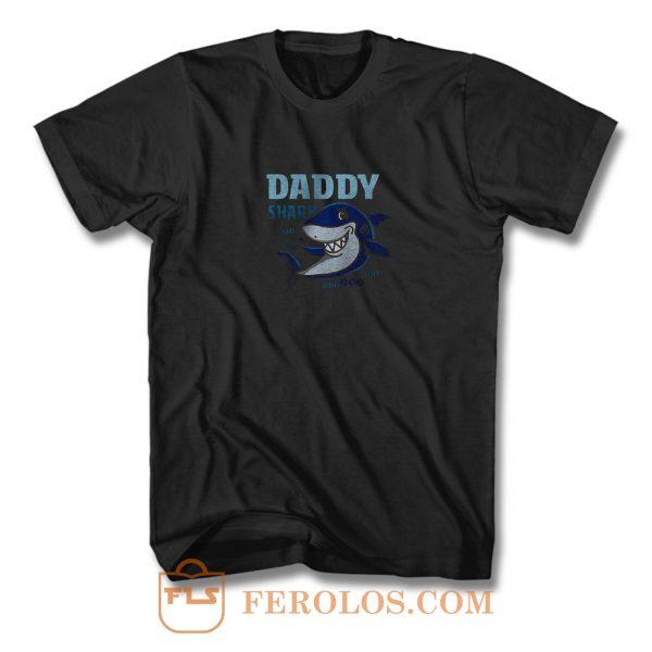Daddy Shark Doo Doo Doo Daddy T Shirt