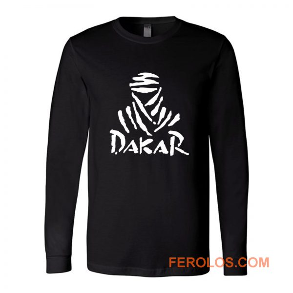 Dakar Rally Championship Logo Sport Long Sleeve