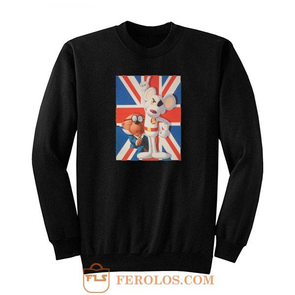 Danger Mouse British Cartoon Sweatshirt