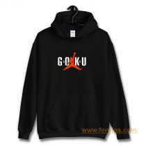 Dbz Goku Air Parody Hoodie