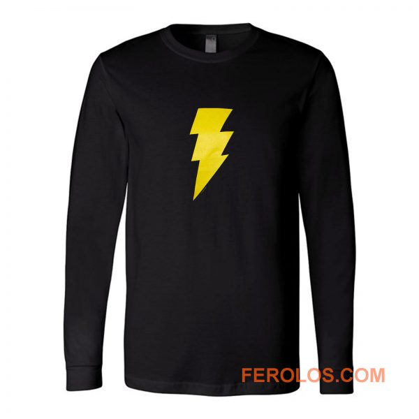 Dc Comics Black Adam Long Sleeve