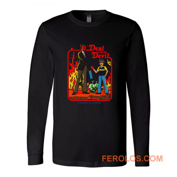 Deal Wirh Devil Long Sleeve