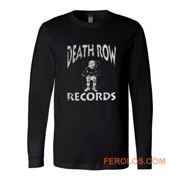 Death Row Rap Hip Hop Long Sleeve
