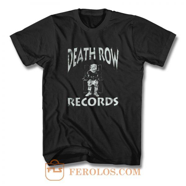 Death Row Rap Hip Hop T Shirt