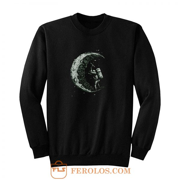 Digging The Moon Sweatshirt