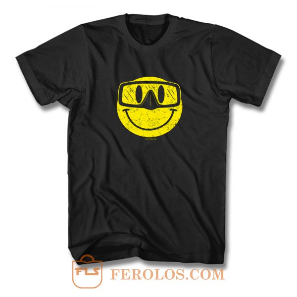 Diving Smiling T Shirt