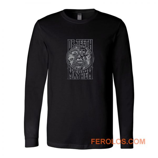 Dr Teeth Muppets Long Sleeve