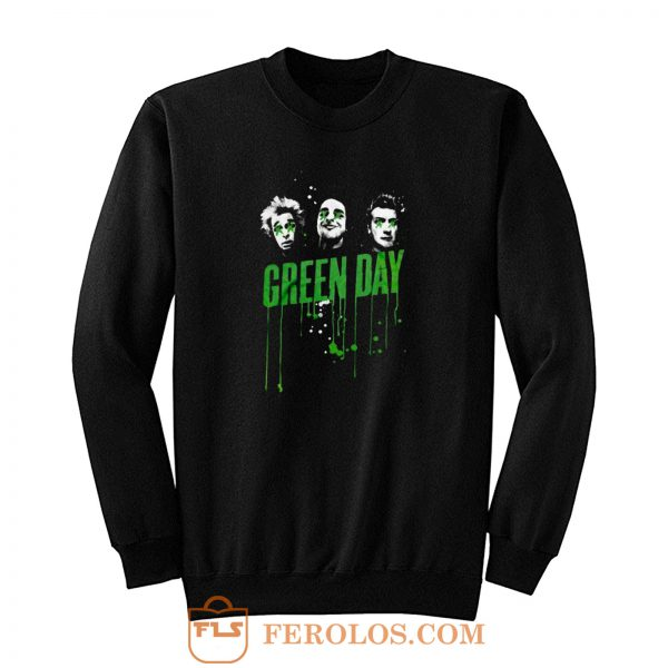 Drips Green Day Band Sweatshirt