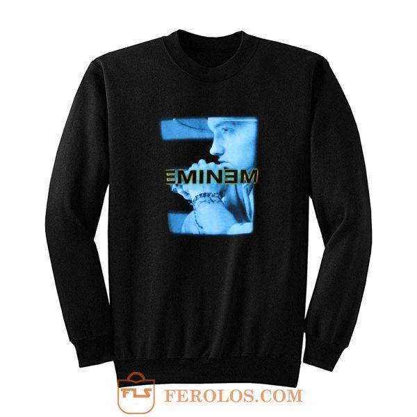 Eminem Blue Photo Poster Vintage Sweatshirt