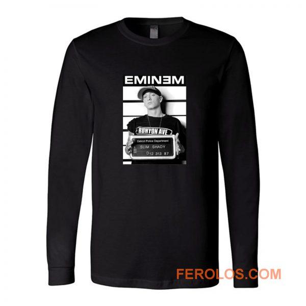 Eminem Slim Shady Rap Long Sleeve