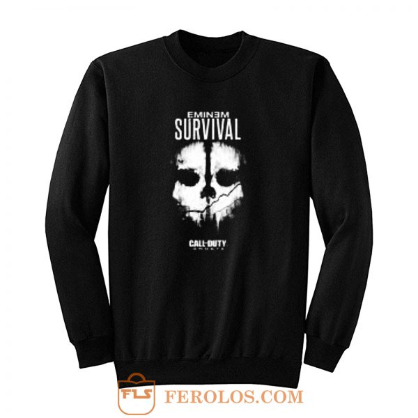 Eminem Survival Call Of Duty Rap Game Sweatshirt