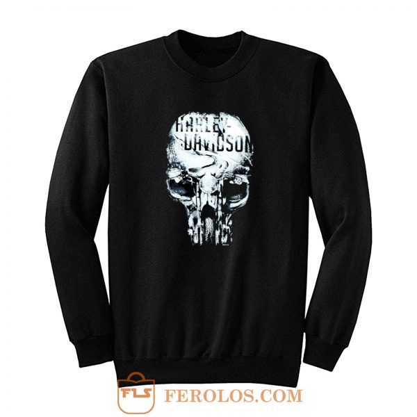Eternal Freedom Skull Sweatshirt