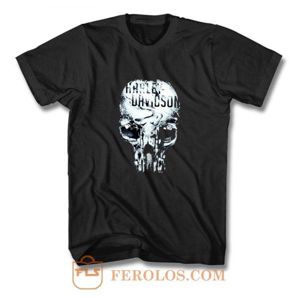 Eternal Freedom Skull T Shirt