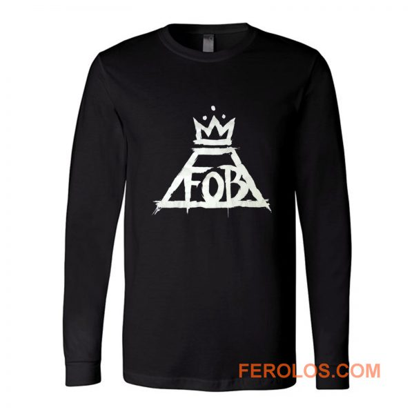Fall Out Boy Fob Crown Rock Band Long Sleeve