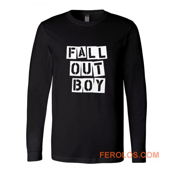 Fall Out Boy Fob Retro Long Sleeve