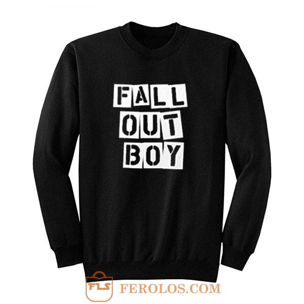 Fall Out Boy Fob Retro Sweatshirt