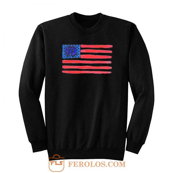 Flag Monogram Sweatshirt