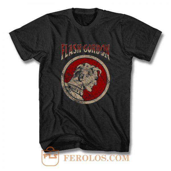 Flash Gordon Retro Flash Circle T Shirt