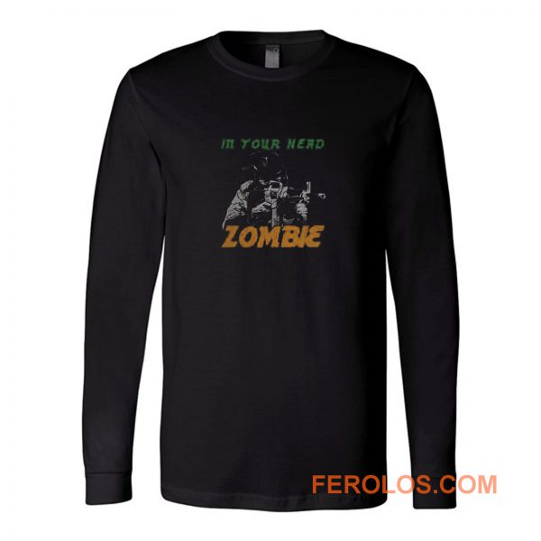 From The Cranbarries Song Zombie Long Sleeve