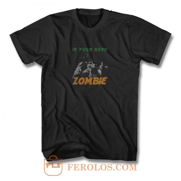 From The Cranbarries Song Zombie T Shirt