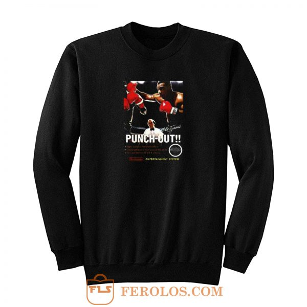 Funny Birthday Punch Out Sweatshirt