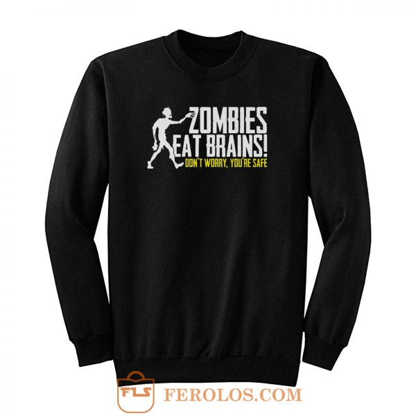Funny Zombie Sweatshirt