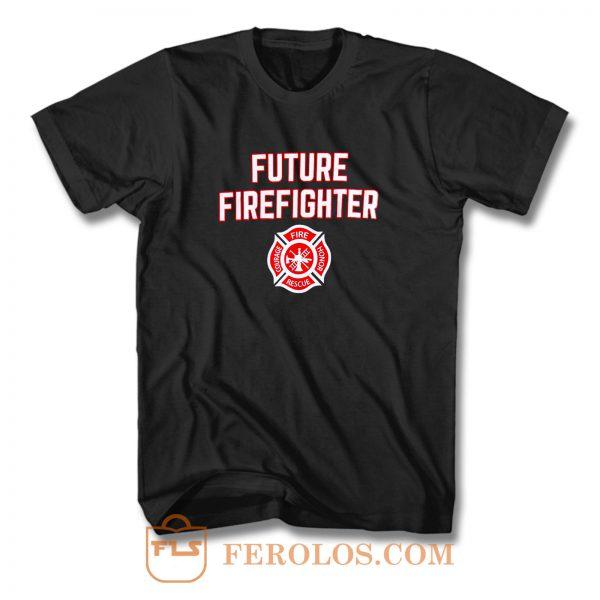 Future Firefighter T Shirt