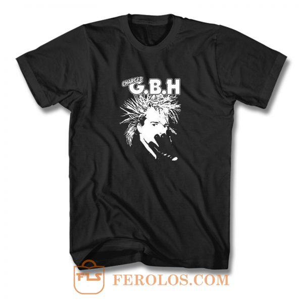 Gbh Charged Punk T Shirt