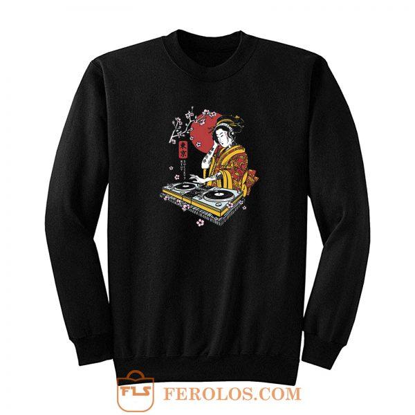 Geisha The Dj Japan Sweatshirt