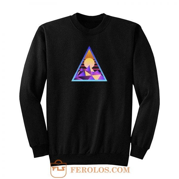 Geometric Abstract Sweatshirt