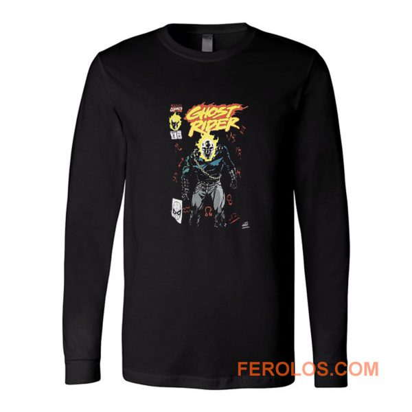 Ghost Rider Movie Vintage Long Sleeve