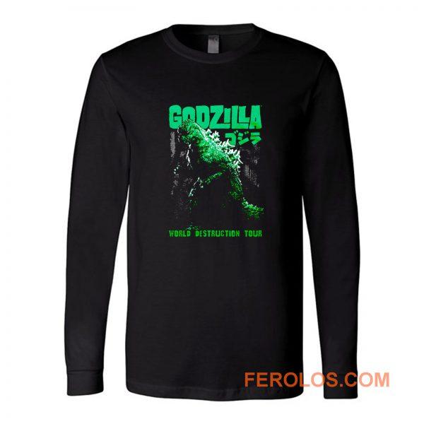 Godzilla World Destruction Long Sleeve