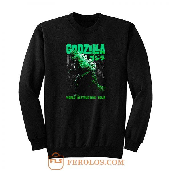 Godzilla World Destruction Sweatshirt